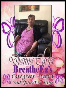 Diana Carter 2nd Qtr 2019
