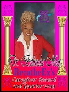 Dr. Belinda Moss 2nd Qtr 2019