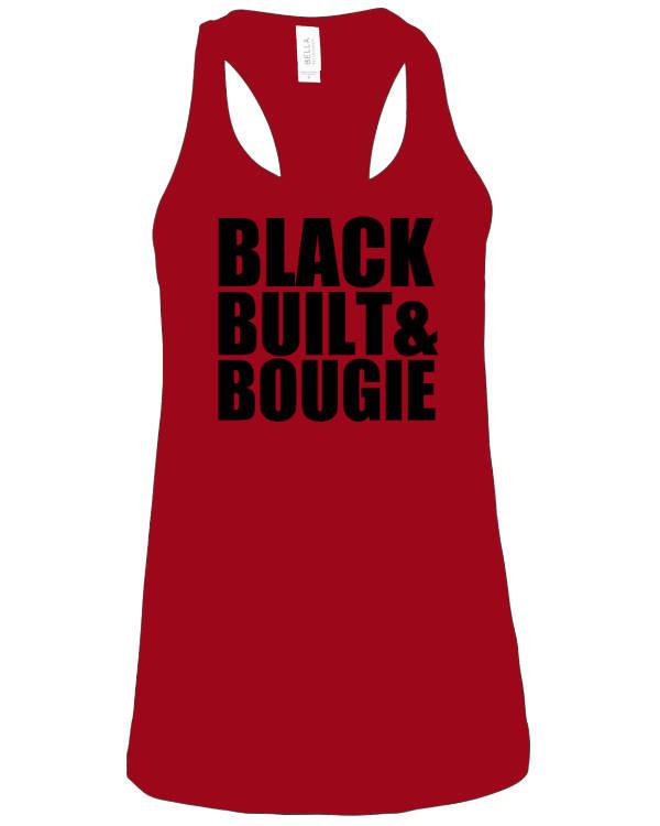Black Built & Bougie Shirts